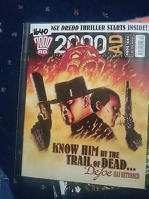 2000 Ad Magazine #1640-Know Him By The Trail Of Dead...defore Has Returned..