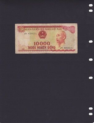"Vietnam 1993 - Banknote 10,000 ""Dong Ho Chi Minh"" Portrait - used"