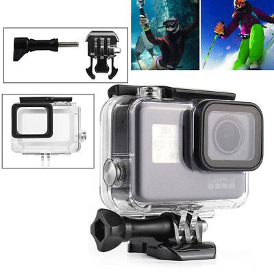 45M Underwater Waterproof Housing Dive Protective Case for GoPro Hero 6 5 USA