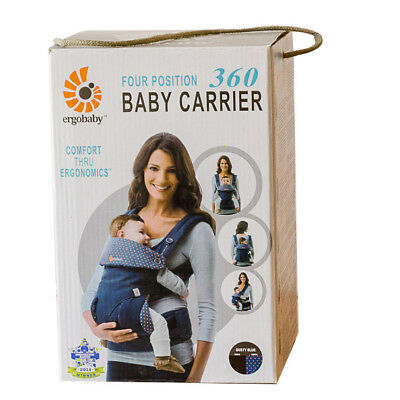 NEW & AUTHENTIC. ERGOBABY 360 4 Position Ergo baby carrier. OPEN BOX. 6 COLORS!