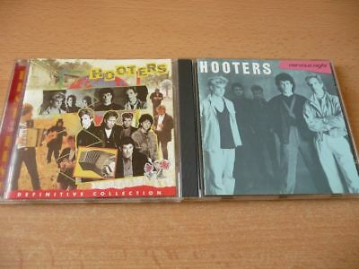 2 CD Set Hooters: Nervous night & Definitive Collection Best of the Best