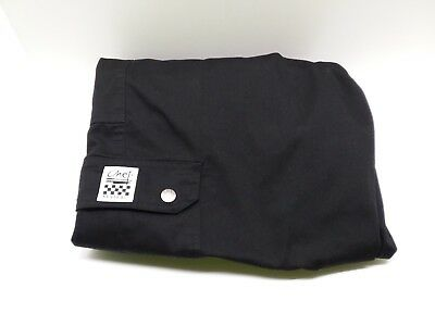 Chef Revival Black Pants Xl 6 Pockets Rn#96152