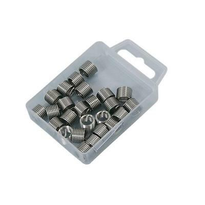 25 Piece Helicoil Type Threaded Inserts M8 X 1.25 mm - Thread Repair Coils