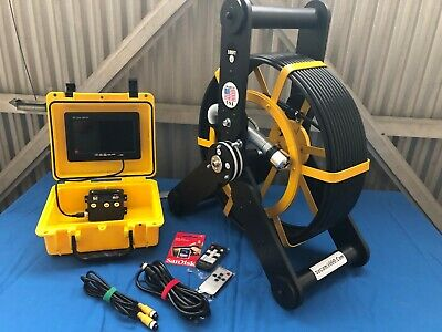 512hz Recordable Sewer Camera For Pipe Inspection drain cleaning 100FT