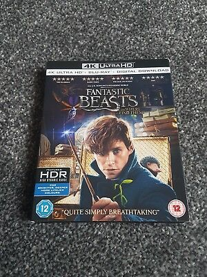 Fantastic beasts and where to find them 4K ultra HD blu-ray