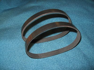"2 New Drive Belts Usa Made For Delta 22-590 Type 1 13"" Portable Thickness Planer"