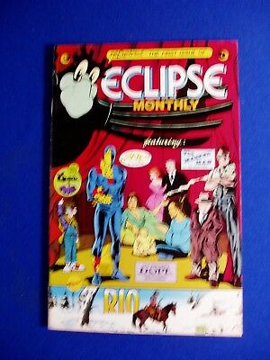 Eclipse Monthly lot: issues 1,2,& 3.. Ditko, Trina. VFN.