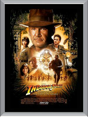 Indiana Jones And The Kingdom Of The Crystal Skull A1 To A4 Size Poster Prints