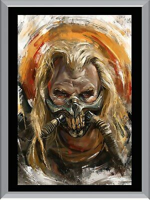 Mad Max Immortan Joe Painting Art A1 To A4 Size Poster Prints