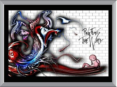 Pink Floyd The Wall A1 To A4 Size Poster Prints