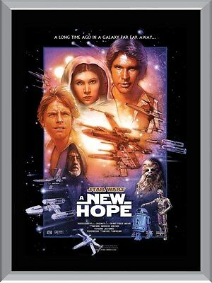 Star Wars A New Hope A1 To A4 Size Poster Prints