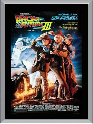 Back To The Future 3 A1 To A4 Size Poster Prints