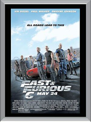 Fast And The Furious 6 A1 To A4 Size Poster Prints
