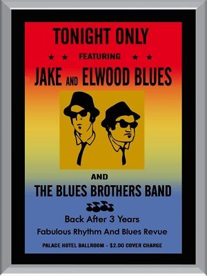 The Blues Brothers Band A1 To A4 Size Poster Prints
