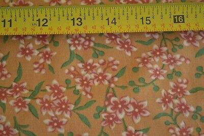 Thimbleberries//Sunshine Shadow By 1//2 Yd Green on Rusts Quilting Cotton N1389