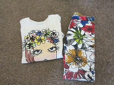 Girls moschino t-shirt and pants  age 3/98a