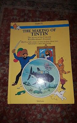 THE MAKING OF TINTIN 1983 1st EDITION