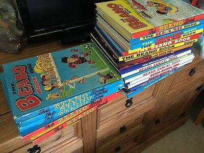 The Beano Book - Complete from 1975-2006 + many others!! over 40 books!!