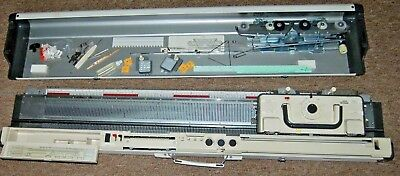 EMPISAL KNITMASTER Model 700 Knitting Machine empiral with case MOD700 700k