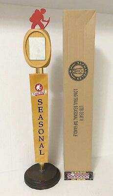 "Long Trail Brewing Company Seasonal Beer Tap Handle 17"" Tall - Brand New In Box!"
