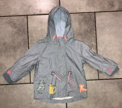 Next Girls Coat 18-24m (can fit size 2-3y)