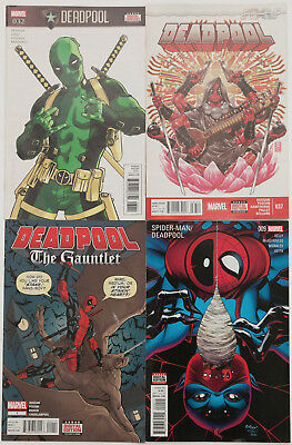 DEADPOOL BUNDLE secret empire the gauntlet #1 spider-man marvel