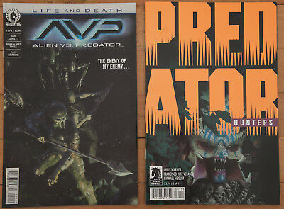 Predator Hunters #1 Avp Life And Death #1 Dark Horse Comics Predator Aliens