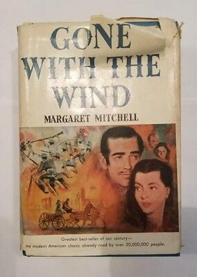 Gone with the Wind by Margaret Mitchell 1954 Book Club Edition Hardcover