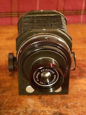 Vintage Camera Spiratone Macrotar, Macro Lens 35mm 1:3.5 Japan,Aetna Bellows