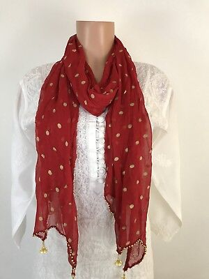 $7 IBC Stylish Indian Dupatta Fish Cut Scarf Perfect Match For Kurti  New Look