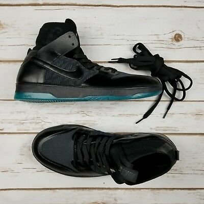 online retailer f73bf 4d1ef NIKE SB Zoom Dunk High Elite Black Atomic Teal 917567 003 - Men 8.5 New