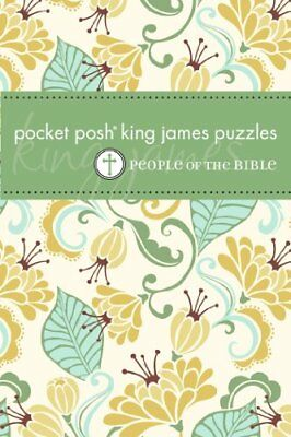 Pocket Posh King James Puzzles: People of the... by The Puzzle Society Paperback