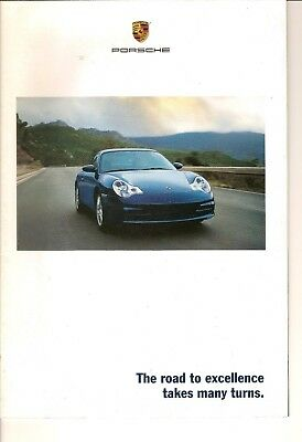 PORSCHE OFFICIAL 2002 SALES BROCHURE   Boxster, 911