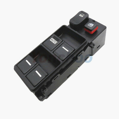 For 03-07 Honda Accord Master Window Switch 4 Door Driver Side OEM 35750-SDA-H12