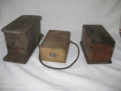 Lot of 3 Buzz Coils - Jefferson, 2 Unmarked