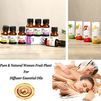 Pure & Natural Aromatherapy Essential Oil For Diffuser - Choose Fragrance 2018 r