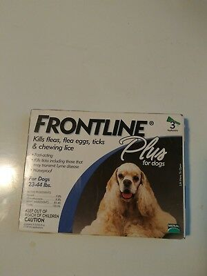 Frontline Plus Flea & Tick Treatment for Medium Dogs (23-44 pounds) 3_Doses