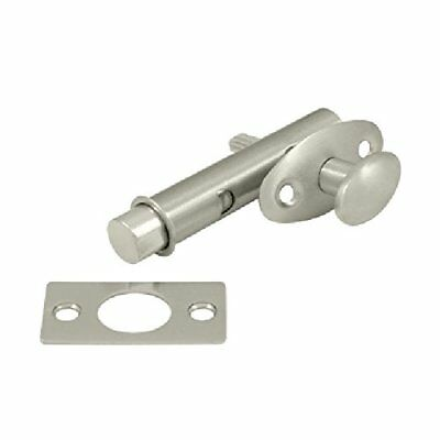 Deltana MB175U15 Screen Doors and Cabinet Doors Solid Brass Mortise Bolt for Lig