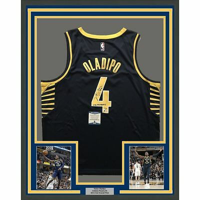610a76dbe5e41 FRAMED Autographed/Signed VICTOR OLADIPO 33x42