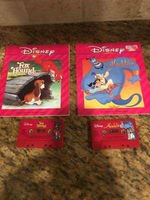 VINTAGE Disney Storyteller Read Along Books and Cassette Tapes W/ Songs Lot of 8