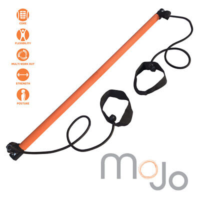 MoJo Gym Bar Yoga Stick Exercise Resistance Bands Body  Stretch Fitness Workout