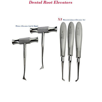 Dental Root Pick Extractive Elevators Winter, Warwick For Removal Dental Surgery