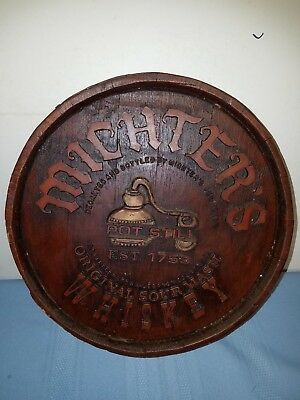Vintage Bar Michter's Whiskey Plaque/Wall Hanging