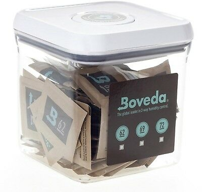 Boveda Humidipak 8 Gram (Medium) 10 Pack 2-way Humidity Control 62% RH Boveda