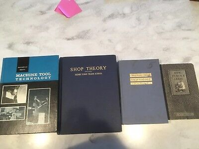 Machinist Books Lot