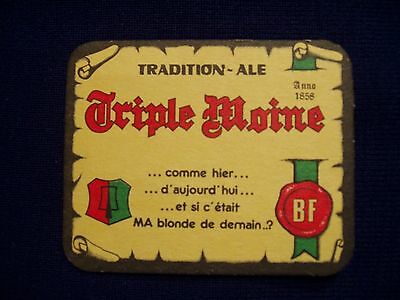 TRIPLE MOINE   Tradition Ale   Anno 1858