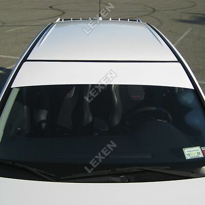 "Sun Strip Visor Premium Vinyl Decal Windshield Banner Cast PVC Film 60""x12"""
