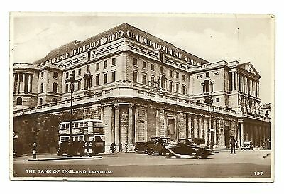 Cp - London - The Bank Of England - Avant 1950