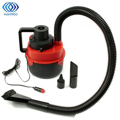 Portable Vacuum Cleaner Wet Dry Car Shop Wall Mount Garage Blower Vac 2 Peak HP