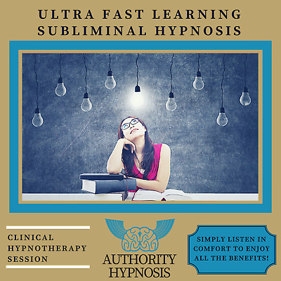 Ultra Fast Learning Hypnosis, Learn Anything Quickly, Supercharge Your Brain